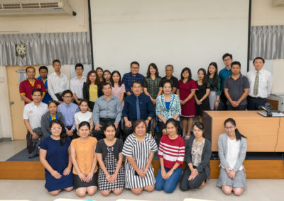 The 7th survey of thailand gold standard in hematology testing