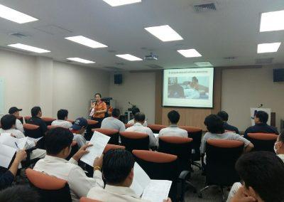 ทดสอบสมรรถภาพร่างกายกับพนักงานบริษัท โตโยต้า มอร์เตอร์ ประเทศไทย (สำโรง)