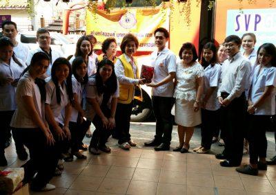 บริการตรวจสุขภาพประชาชนในชุมชน รอบโรงเรียนวัดสามัคคีธรรม เขตลาดพร้าว 80