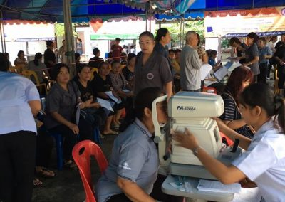 ตรวจสุขภาพประชาชน เทศบาลเมืองคลองหลวง จ. ปทุมธานี