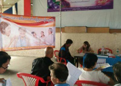 บริการตรวจสุขภาพประชาชน เทศบาลตำบลบ้านใหม่ จ. ปทุมธานี