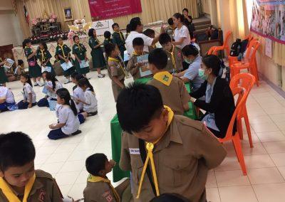 ตรวจสุขภาพนักเรียน โรงเรียนอุดมวิทยา จังหวัดปทุมธานี