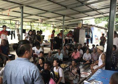 ตรวจสุขภาพ แก่ประชาชนทั่วไป  ในโครงการตรวจสุขภาพคนไร้บ้าน ประจำปี 2560 ครั้งที่ 2