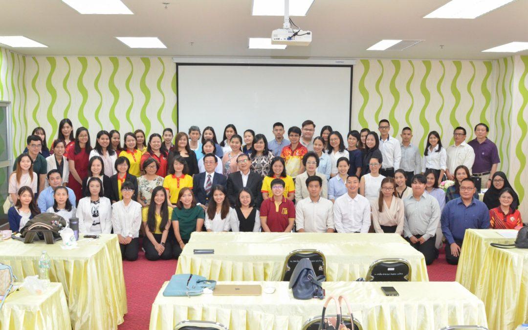 คณะสหเวชศาสตร์ มหาวิทยาลัยธรรมศาสตร์ จัดโครงการปฐมนิเทศนักศึกษาใหม่ ระดับบัณฑิตศึกษา ประจำปีการศึกษา 2562