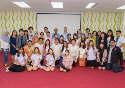 Oral presentation and farewell banquet Exchange students from University of Santo Thomas, Philippines on February 9, 2018