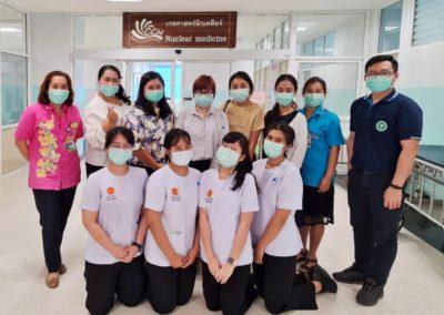 ☢️😊 ระหว่างวันที่ 15 กุมภาพันธ์ – 26 มีนาคม 2564 คณาจารย์ภาควิชารังสีเทคนิค ได้เดินทางไปนิเทศการฝึกปฏิบัติงานทางด้านเวชศาสตร์นิวเคลียร์ ของนักศึกษารังสีเทคนิค ชั้นปีที่ 4 ประจำปีการศึกษา 2563