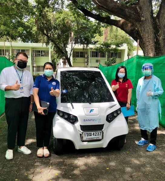วันที่ 25 มิถุนายน 2564 ศูนย์บริการสุขภาพคณะสหเวชศาสตร์ ออกหน่วยให้บริการเก็บตัวอย่าง swab และตรวจวิเคราะห์หาสารพันธุกรรมไวรัส SARS-CoV-2 ให้แก่นักศึกษาชาวต่างชาติของสถาบันเทคโนโลยีแห่งเอเชียและมหาวิทยาลัยธรรมศาสตร์